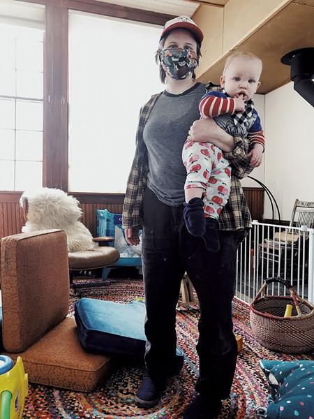 Kirpan and son Sylvester