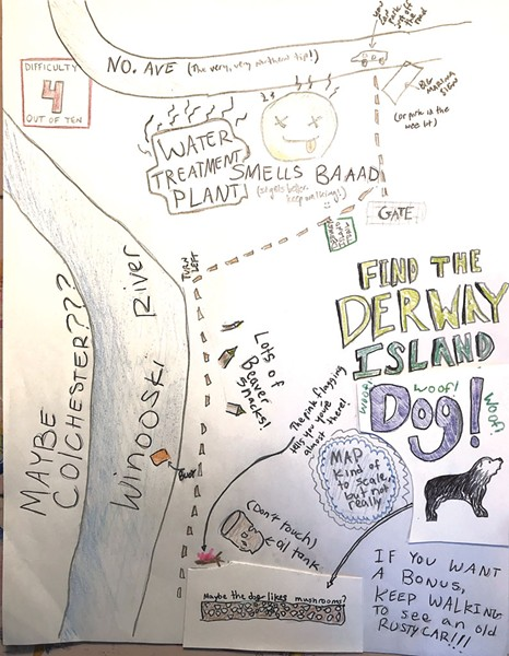Jillian's Derway Island map - COURTESY OF DOV STUCKER