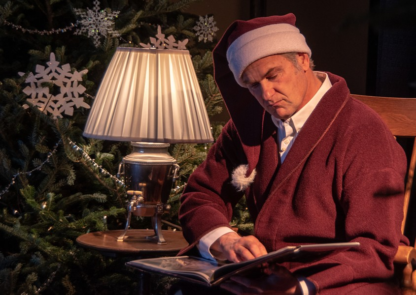 Author Stephen Kiernan reads 'The Polar Express' to families in 2018 - COURTESY OF VERMONT CHILDREN'S TRUST FOUNDATION