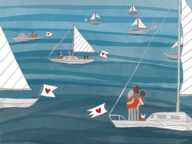 A detail from Elisa Järnefelt's cover illustration - ELISA JÄRNEFELT