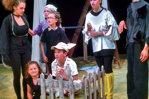 The young cast of Charlotte's Web