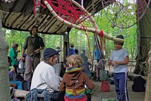Nature is the Teacher at Burlington's Popular Crow's Path