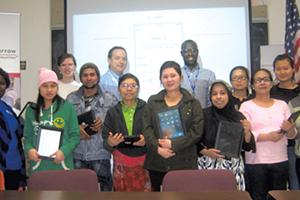 Parent University participants and instructors