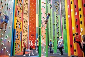 Clips & Reels Recreation Center at Jay Peak Resort