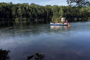 Kettle Pond in Groton State Forest