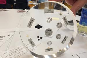 One of the NASA discs
