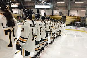 UVM women's hockey team
