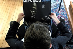 Leo learns about the music of Miles Davis
