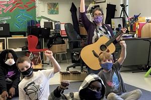 Burlington music teacher Betsy Nolan