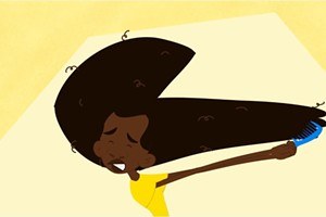 'Wash Day,' an animated short in the NYCIFF Kid Flicks festival