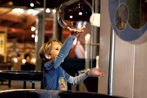 Bubbles at the Montshire Museum of Science