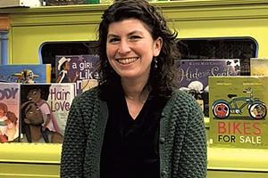 Librarian Abby Johnson