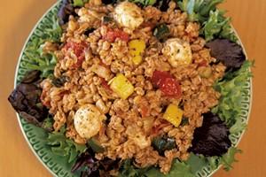 Roasted Vegetable Farro Salad