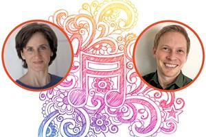 Christa Loescher and Kevin Ginter