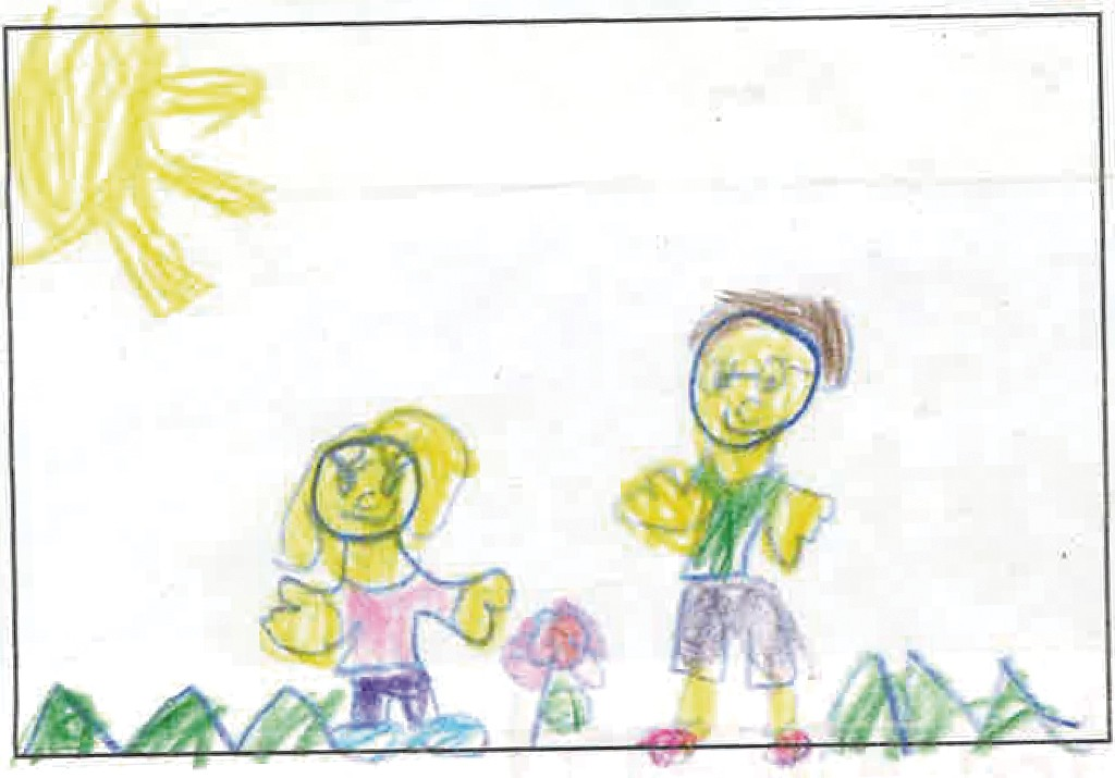 """""""If I had a magic pebble, I would wish that my Opa wouldn't lose his eyesight all the way. I want him to be able to see me and my Oma and everyone else he loves."""" - JULIANA VAN ZYL, 6, ADDISON"""