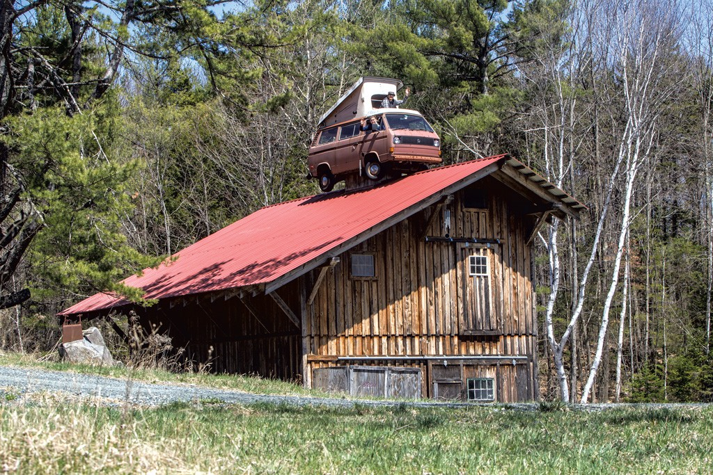 Forget The Treehouse Put This Vw Bus Cupola On Your Barn