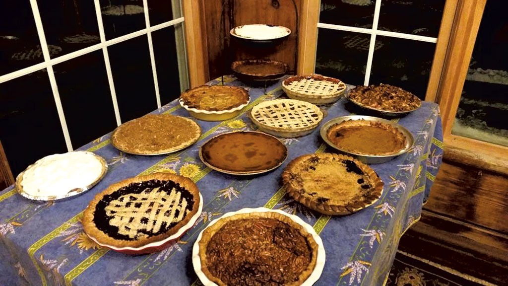 Thanksgiving pies - COURTESY OF ASTRID HEDBOR LAGUE