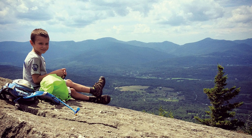 Noah at Stowe Pinnacle - BROOKE BOUSQUET