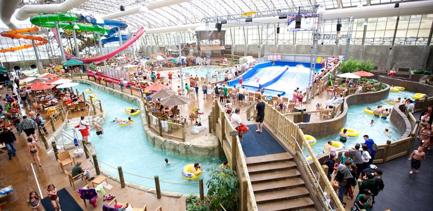 The Pump House water park at Jay Peak