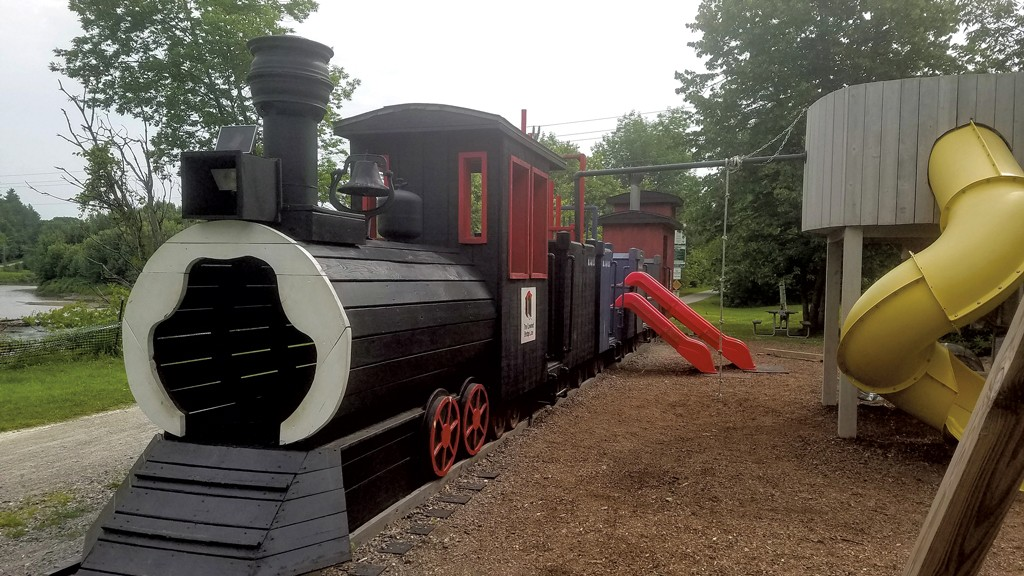 Cambridge Junction Trailhead Playground - COURTESY OF LAIRD MACDOWELL