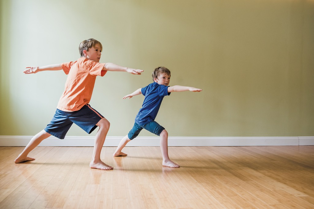 Yoga Pose Of The Month Warrior 2 Yoga Pose Of The Month Kids Vt Small People Big Ideas