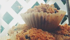 Home Cookin': Blueberry-Graham-Cracker Muffins