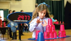 Vermont Kids Stack Fast at StackFest