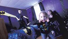 Batcave Bedroom
