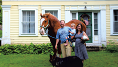 Farmhouse Family: A Peacham Pair Discuss Chores, Childcare and Life Lessons