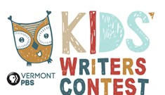 It's Story Time for the Vermont PBS Kids Writers Contest