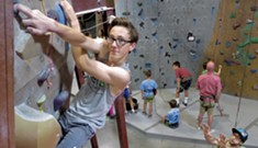 Rock Star: The Sky's the Limit for This Teen Climber