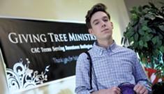Living the Word: High School Senior Connor Durochia Follows the Gospel by Feeding the Poor