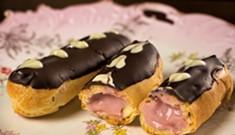 Raspberry Éclairs: A fancy treat for Valentine's Day