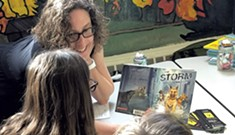 Families Meet Children's Book Authors at nErdcampVT