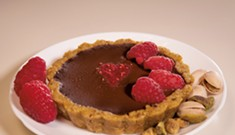 Chocolate Tartlets for Valentine's Day