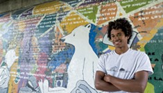 Making Their Mark: Lincoln and Bristol Youth Update Garlands Bridge Mural