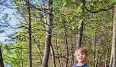 New Nature Playgroup for Toddlers at Burlington's Rock Point