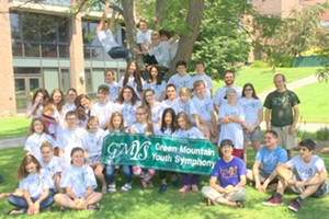 Green Mountain Youth Symphony Creative Arts & Music Program