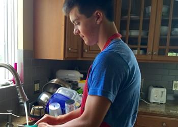 Summer Salaries: Dishwashing Days