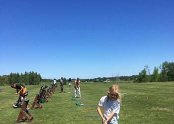 Home on the Range: A Parent-Kid Outing to the Kwiniaska Driving Range