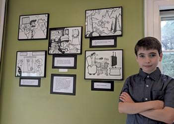 Renaissance Kid: Creativity and Curiosity Fuel a Young Artist