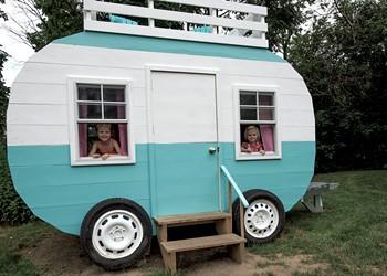 Habitat: Camper-Style Playhouse