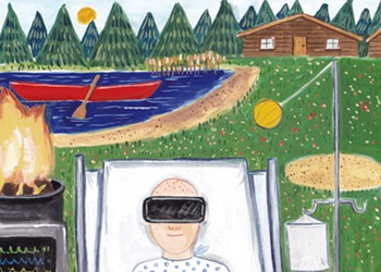 Distance Vision: New Virtual Reality Program Brings Camp to Sick Kids