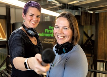 """Wonder Women: VPR's Jane Lindholm and Melody Bodette Tap Into Kids' Curiosity With """"But Why"""""""
