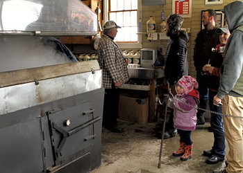 Destination Recreation: Local Sugarhouses