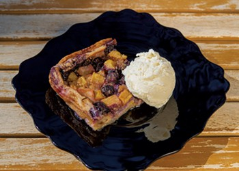 Blueberry-Rhubarb Clafoutis: A Fruit-Forward Dessert from France