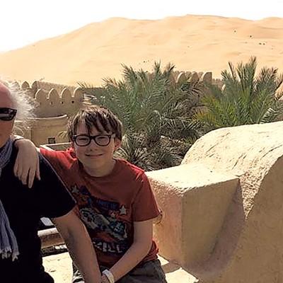 Bercaw-Nicholls Family, Abu Dhabi, 2014-2015