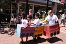 Cardboard Box Parade