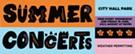 Burlington Summer Concerts