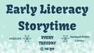 Hartland Early Literacy Storytime